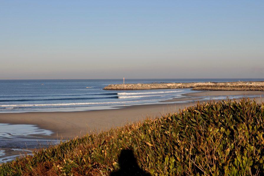 Surfen vor dem Camp