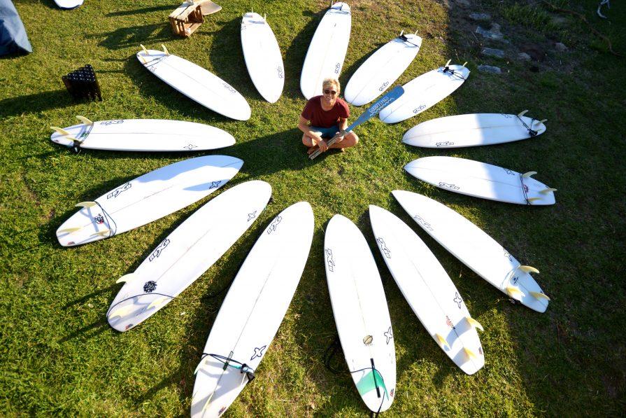 Testcenter im Surfcamp