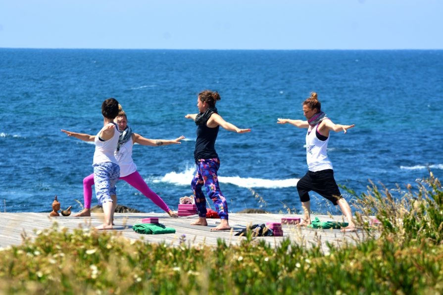 Yoga in den Yogaretreats