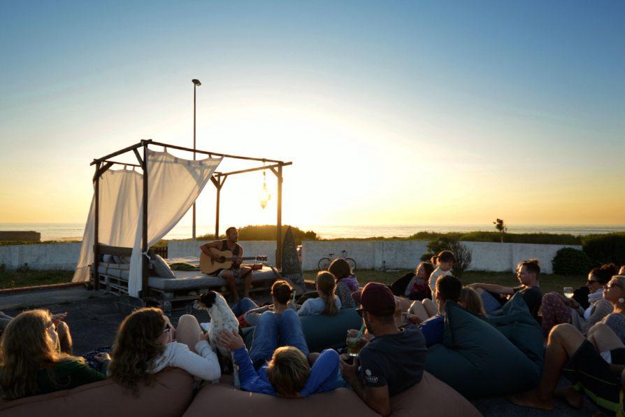 Konzert im Goodtimes Surfcamp