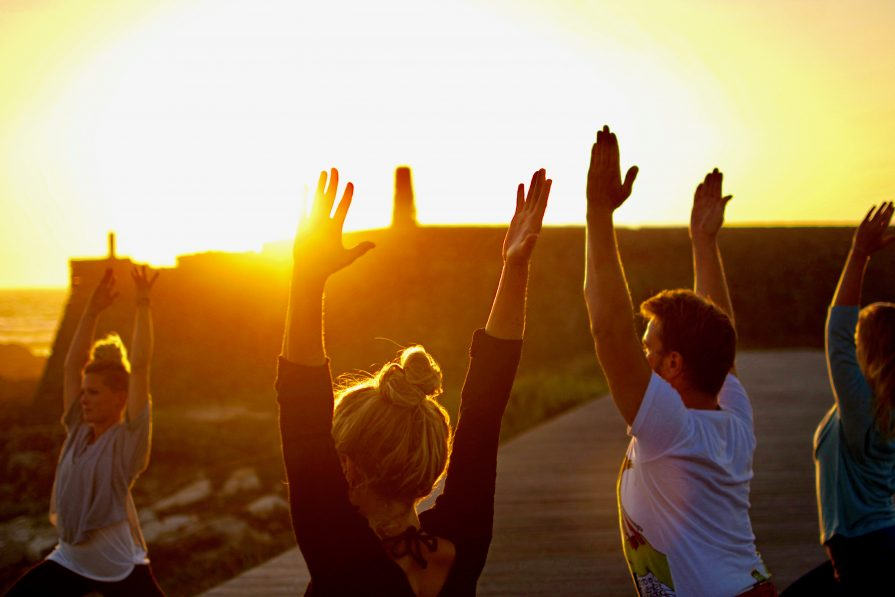 Yoga am Meer mit Ju Horn