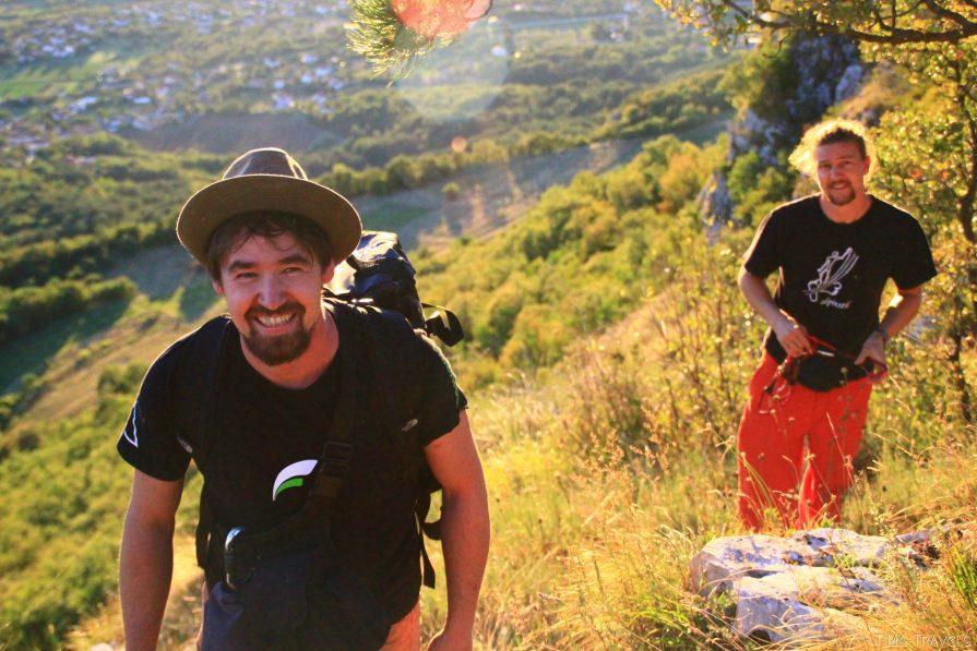 Kletterreise mit Timo Bartel und Matthis Green