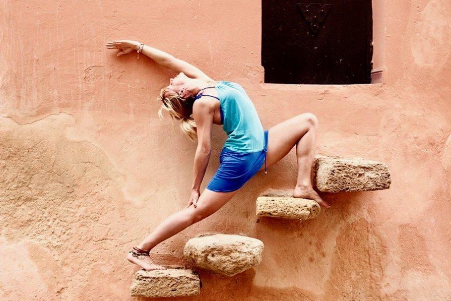 Yoga Glück mit Jule Nusskern
