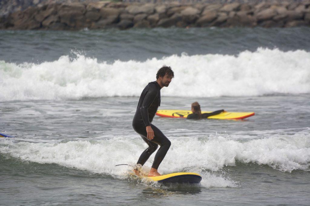 Surfcamp am Surfspot