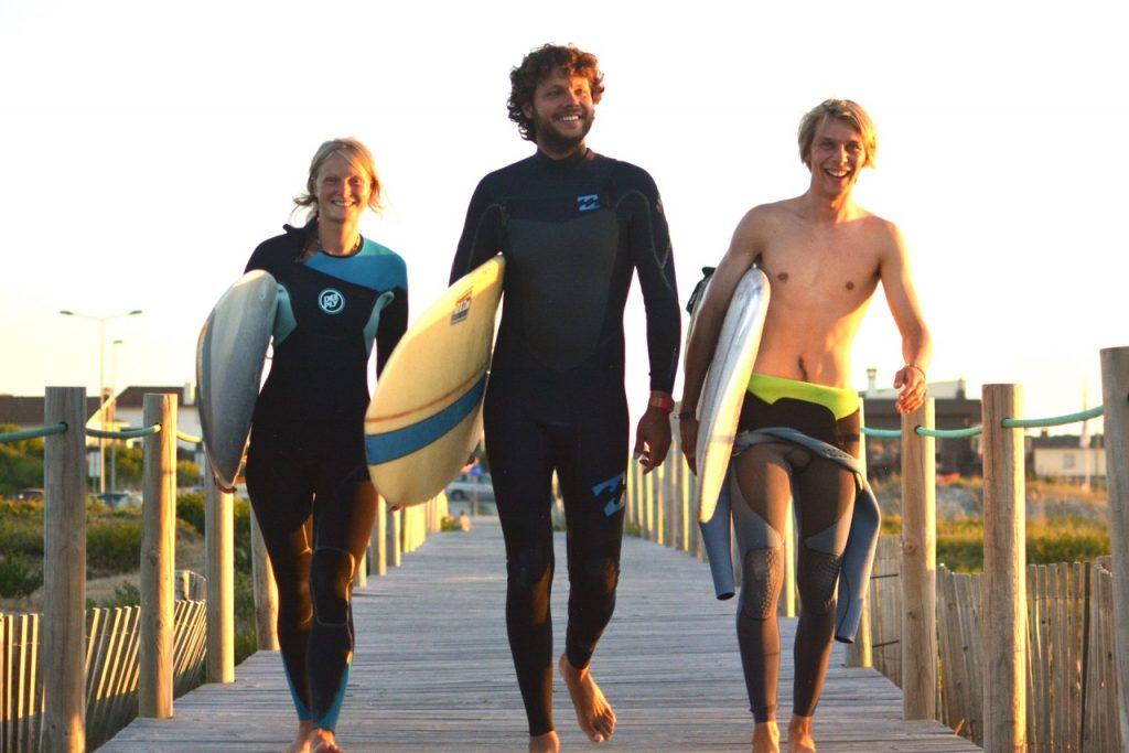 Goodtimes Surfcamp Surfen in Portugal