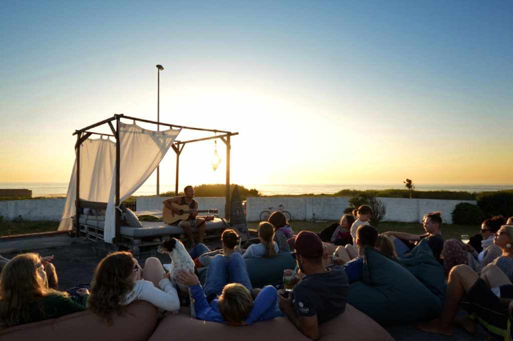 Goodtimes Surfcamp direkt am Surfspot