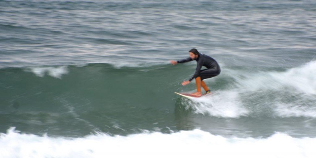 Surfen in Portugal wohnen am Strand