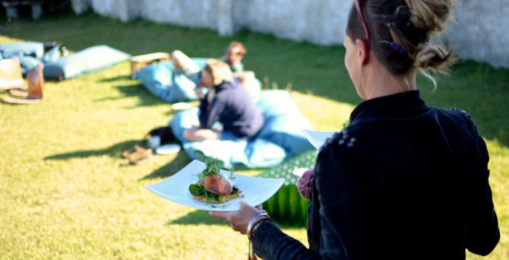 Essen im Surfcamp