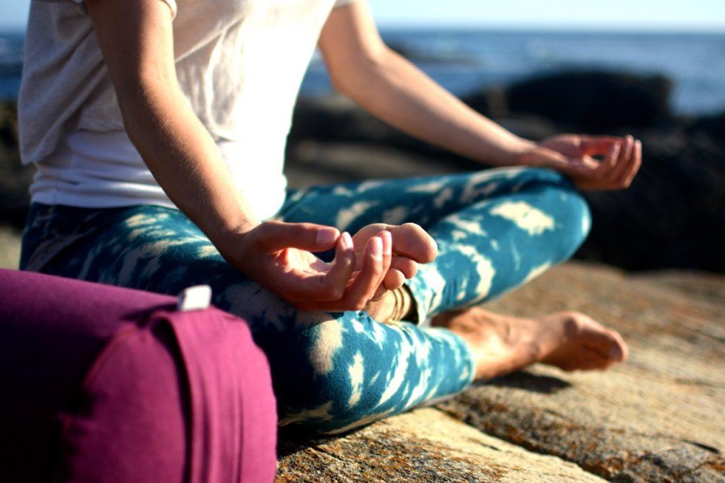 Yoga und Surfen